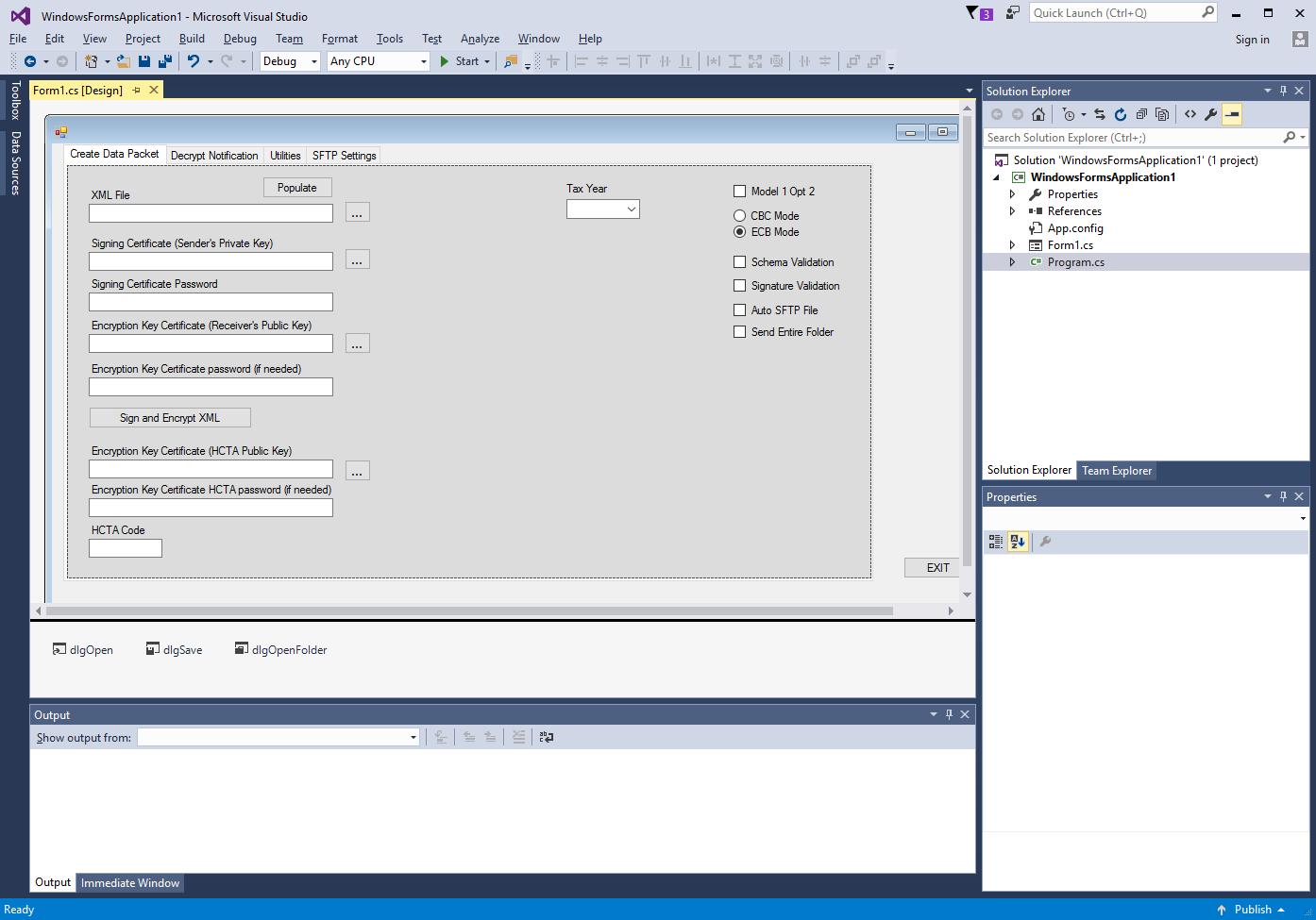 IDES Data Preparation -  NET