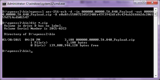 IDES Data Preparation - OpenSSL